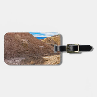 Curving Riverbed at Zabriskie Point. Tag For Bags