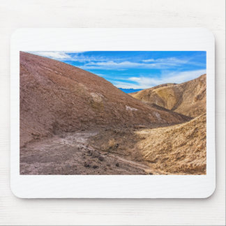 Curving Riverbed at Zabriskie Point. Mousepad