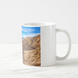 Curving Riverbed at Zabriskie Point. Coffee Mug