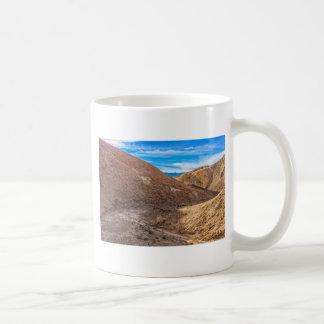 Curving Riverbed at Zabriskie Point. Mug