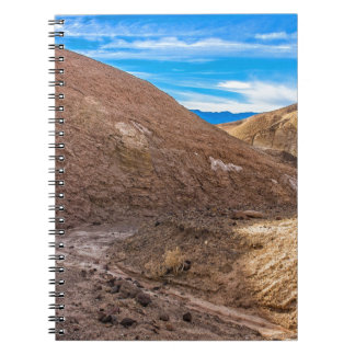 Curving Riverbed at Zabriskie Point. Note Books