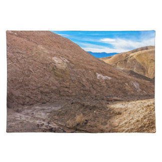 Curving Riverbed at Zabriskie Point. Placemats