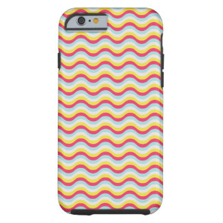Curvy squiggly lines tough iPhone 6 case