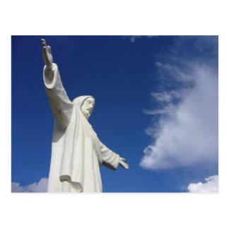 cusco jesus postcard