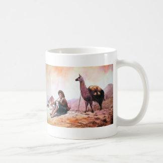 Cusco Peru Llama Picture Coffee Mug
