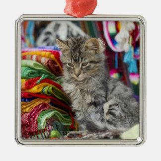 cusco peru Silver-Colored square decoration