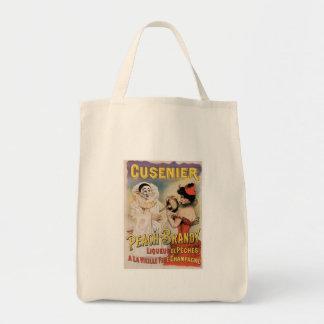 Cusenier Vintage Wine Ad Art Tote Bag