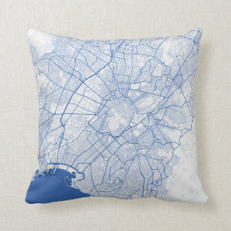 Cushion Athene urban Pattern BLUE