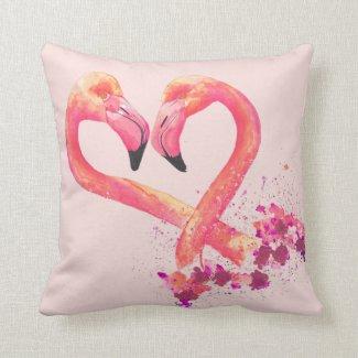 Cushion - Flamingo Design