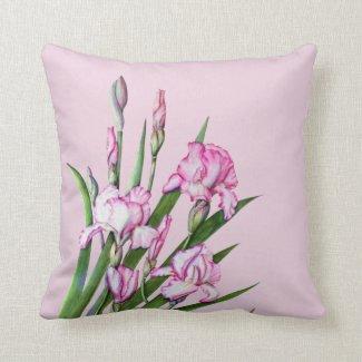 Cushion - Floral Iris Duo Design