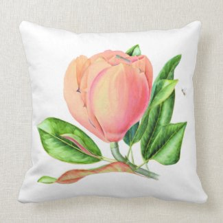 Cushion - Floral Magnolia Design