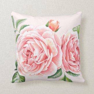 Cushion - Floral Rose Design