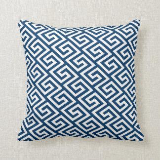 Cushion, Greek Key pattern Throw Pillow