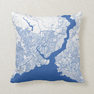 Cushion Istanbul urban Pattern BLUE