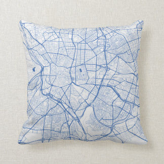 Cushion Madrid urban Pattern BLUE