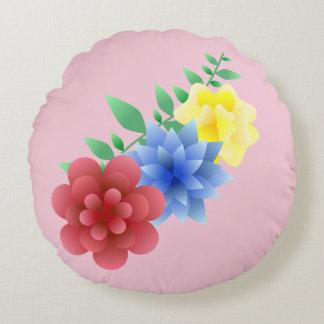 Cushion marries home flowers