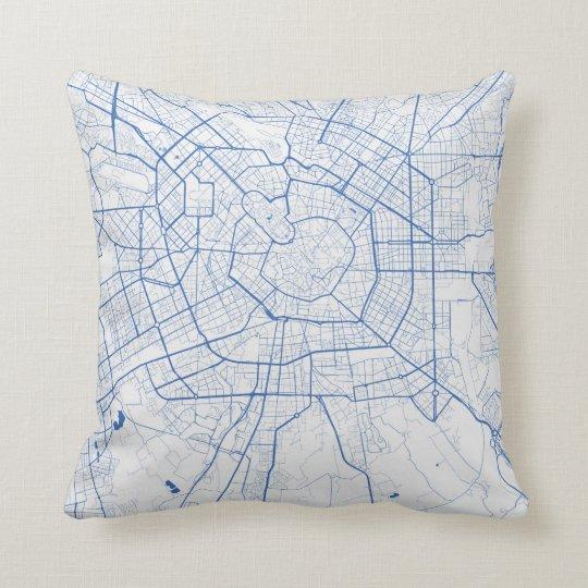 Cushion Milan urban Pattern BLUE