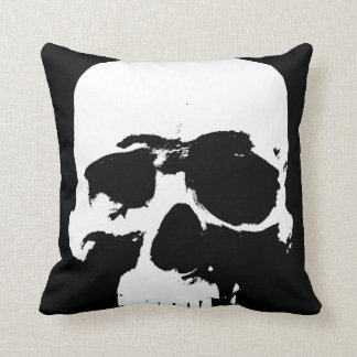Cushion Of Death Goth Skull Sofa Pillow