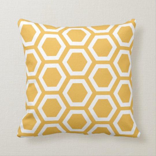 Cushion Pillow Panel Mustard