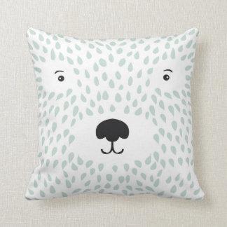 Cushion polar bear mint