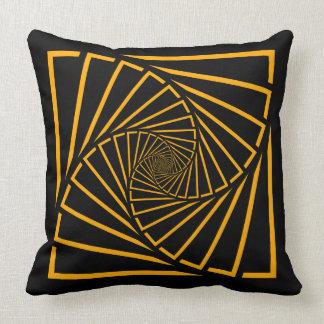 Cushion squares spirals