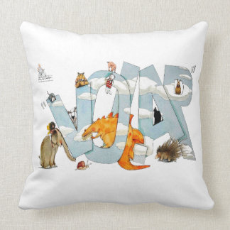 Cushion to fly in your wonderfull dreams.