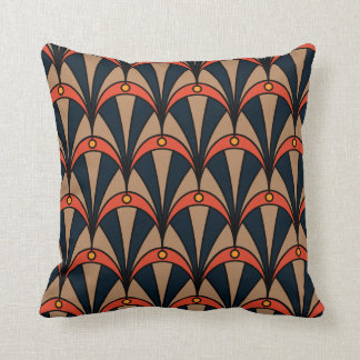 Cushion with Art Deco style pattern