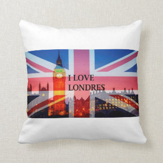 CUSHIONS I LOVE LONDON