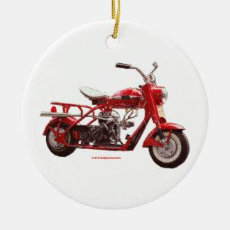 Cushman_Blue_texturizer Christmas Ornament