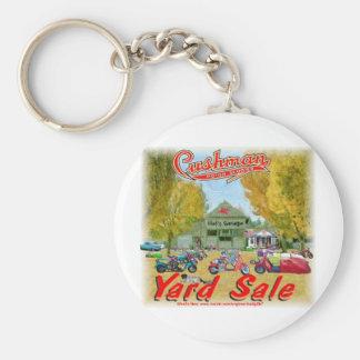 Cushman Yard Sale Basic Round Button Key Ring