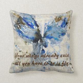 CushyCushions Art Quote Cushion 41 cm x 41 cm