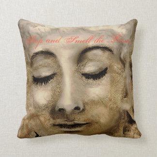 CushyCushions Art Quote, Roses,  41 cm x 41 cm Cushion