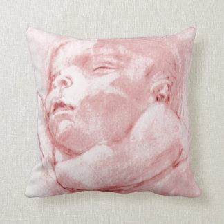 CushyCushions Baby Girl Pink Cushion