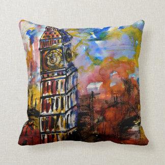 CushyCushions, Big Ben Strikes Ten 41 cm x 41 cm Cushion