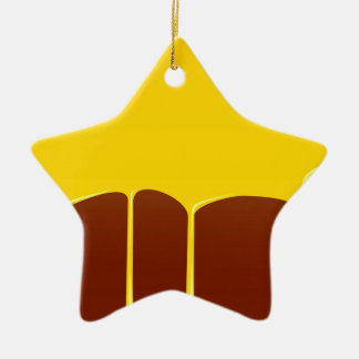 Custard And Chocolate Pudding Christmas Ornament