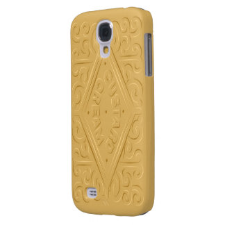 Custard Cream S4 Galaxy S4 Case