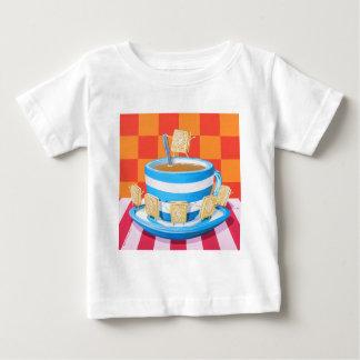 Custard Cream Tea Baby T-Shirt
