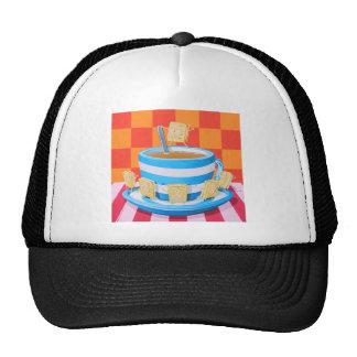 Custard Cream Tea Cap