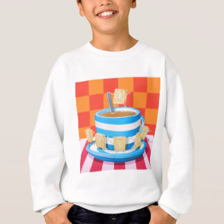Custard Cream Tea Sweatshirt