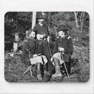 Custer Friends 1860s Mousepad