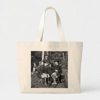 Custer & Friends, 1860s Jumbo Tote Bag