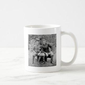Custer & Prisoner, 1862 Coffee Mugs