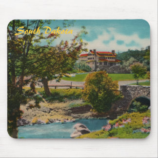 Custer State Park Game Lodge Mousepad