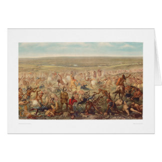 Custer's Last Stand (0482A) Card