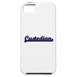 Custodian Classic Job Design iPhone 5 Cases