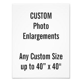 "Custom 10""x13"" Photo Enlargement up to 40""x40"""