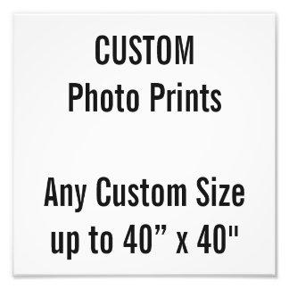 "Custom 10"" x 10"" Photo Print (or any custom size)"
