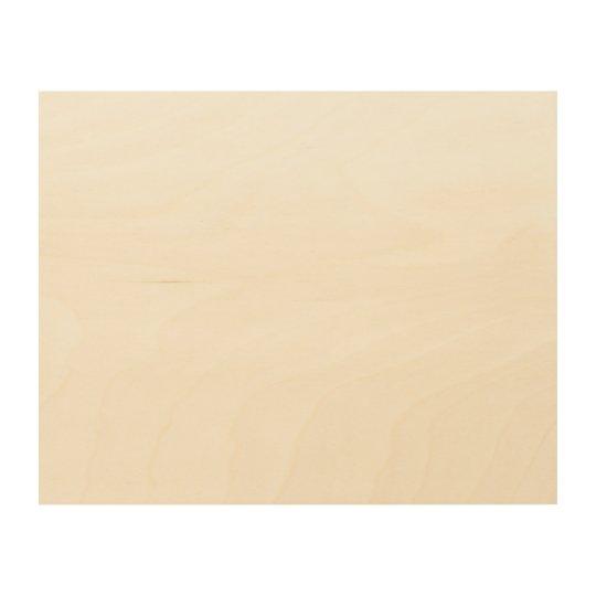 "25.4 cm x 20.3 cm (10"" x 8"") Wood Wall Art"