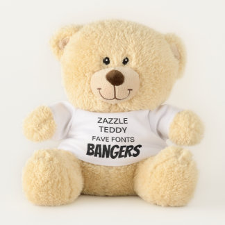 "Custom 11"" Teddy Bear Toy Template BANGERS"