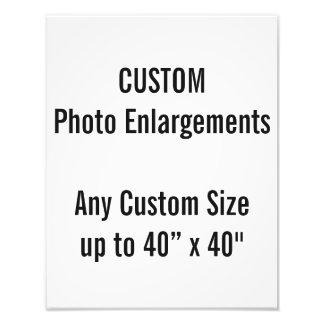 "Custom 11""x14"" Photo Enlargement up to 40""x40"""
